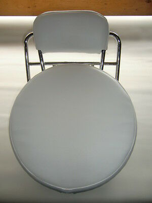 Plain White Scooter Wheel Cover & Back Pad Cover (Other colours)