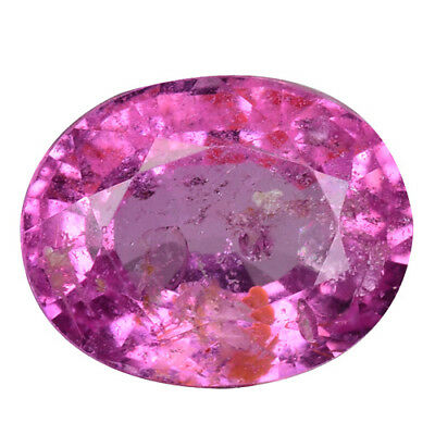 1.965 Cts Extremely Unheated Untreated Pink Natural Sapphire Oval Gemstones