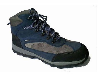 New Size 11 Tuskers Blue Water Resistant Safety Boots Steel Toe Cap Rrp £40