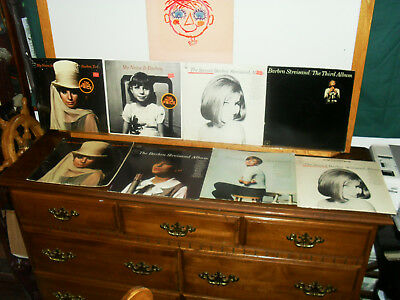 Vintage Barbra Streisand LP Record Lot