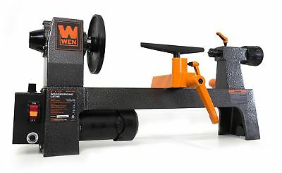 "WEN 3420 8"" by 12"" Variable Speed Benchtop Wood Lathe"