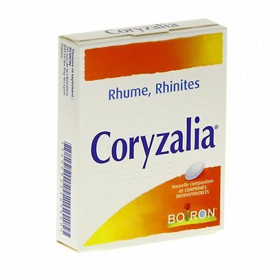 CORYZALIA-BOIRON  For cold and rhinitis treatment-40 tablets