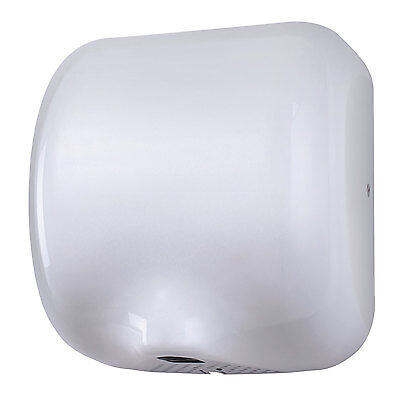 Hand Dryer High Speed Electric White Automatic Auto Toilet Washroom School Drier
