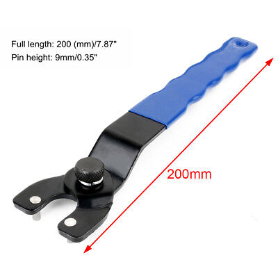Universal 8-50mm Pin Spanner Wrench For Angle Grinder Hub Arbors Heavy Duty