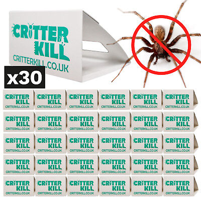 Spider Killer Traps Insect Spray Poison Free Trap Crawling Pest Control Bug X 30