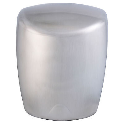 High Speed Hand Dryer Electric Efficient Warm Air Brushed Stainless Steel Drier
