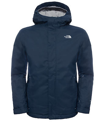 The North Face Youth Snow Quest Jacket - Kids Waterproof Coat - Cosmic Blue