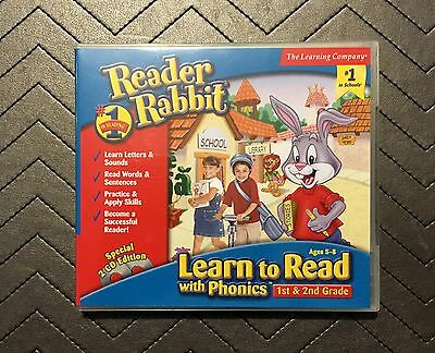 The Learning Company Reader Rabbit® Learn to Read With Phonics™ (PC/MAC, 2001)