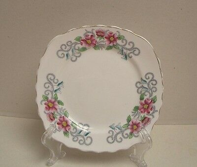 Pretty Colclough Bone China Side Plate, Patt 6665, Great Used Condition