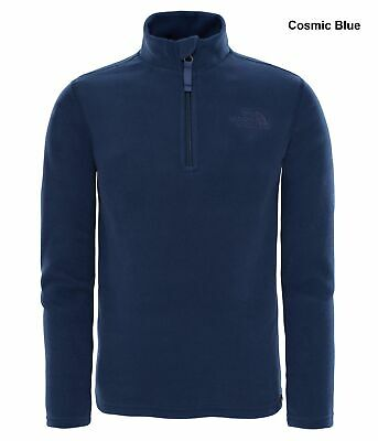 The North Face Youth Glaicer 1/4 Zip Pullover Fleece - Lightweight Fleece