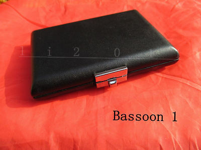 1 pc Bassoon reed case hold 3 pcs reeds