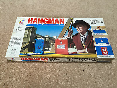 Rare Vintage Collectable 1977 Hangman board game by John Sands