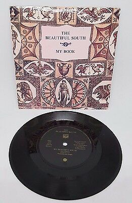 "RARE The Beautiful South My Book 7"" Inch Single Vinyl LP with sleeve VGC"