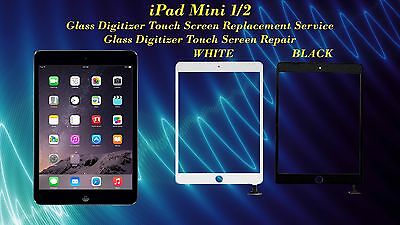 iPad Mini 1/ 2 Glass Digitizer Touch Screen Replacement Repair Service