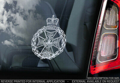 Royal Green Jackets - Car Window Sticker - Forces Military British Army Decal