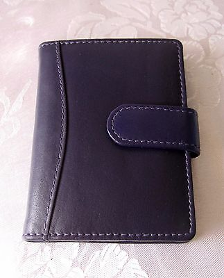 Quality Genuine Leather Credit card holder with slots