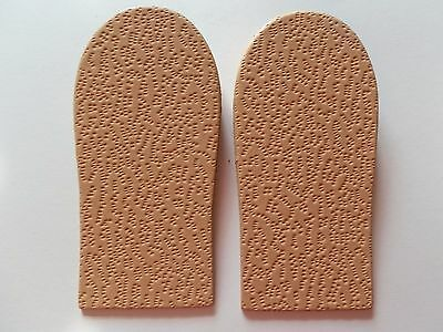1,5cm/15mm Leather Heel Cork Insoles  Lift/Support Insert For Men or Women