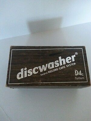 Vintage Discwasher D4 Vinyl Record Cleaner Original Box And Brush Only