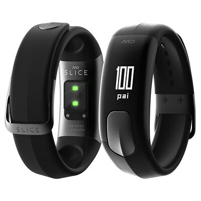 MIO Slice HRM Activity Tracker Black