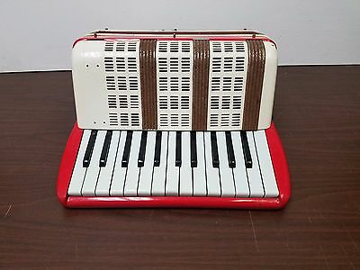 Vintage Student Size 25/12 Piano Accordion