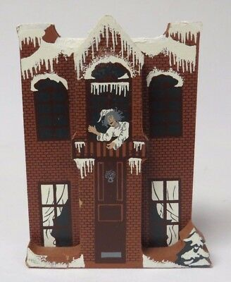 Shelia's Collectibles Limited Edition Dickens Christmas Carol Scrooge's Home