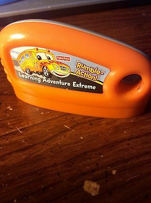 Fisher Price Smart Cycle Learning Adventure Extreme Rumble Action Game Cartridge