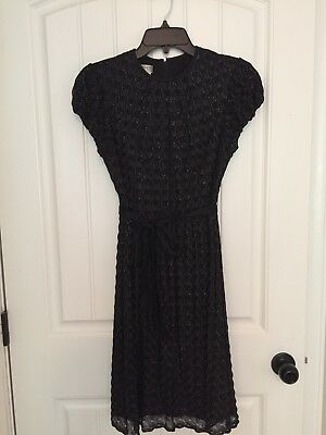 Black vintage cocktail dress