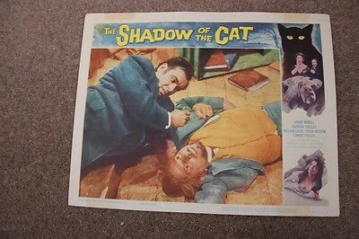 Hammer Horror - The Shadow Of The Cat - Lobby Card