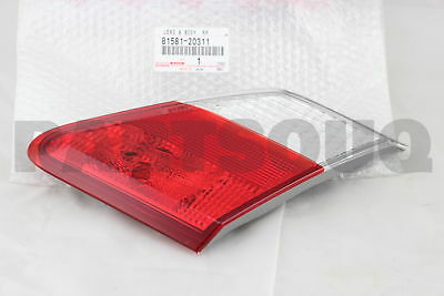 8158120311 Genuine Toyota LENS AND BODY, REAR LAMP, RH 81581-20311