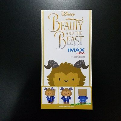 Beauty and the Beast Movie IMAX Promo Cubefold Papercraft Beast figure Brand New