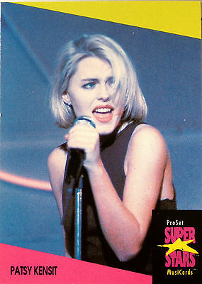 Patsy Kensit - Proset Superstars Musicards 1St Edition Card (U.k. Edition) Rare