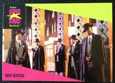 New Edition Proset Superstar Musicards 1St Edition Card Rare Oop