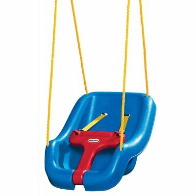 Outdoor Yard Tree Hanging Swing Seat Chair for Kids Toddler Children Play Blue