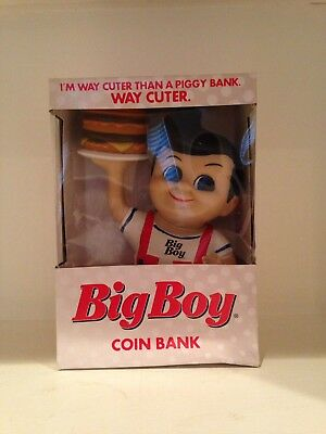 "Big Boy Coin Bank ""I'm Way Cuter Than A Piggy Bank WAY CUTER"" Sze 8""  2015"