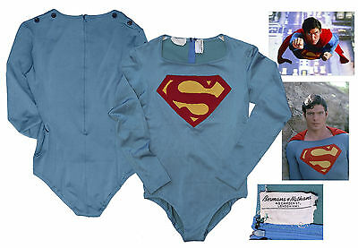 Christopher Reeve Superman Hero Costume Prop Store COA