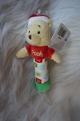 Baby's  Christmas Pooh rattle!  So cute!
