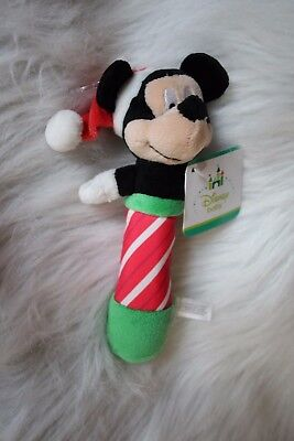 Baby's  Christmas Mickey rattle!  So cute!