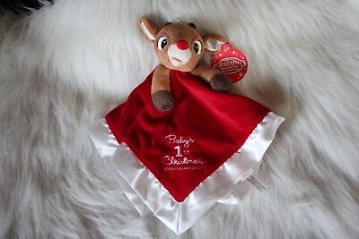 Baby's 1st Christmas Rudolph security toy!  So cute!