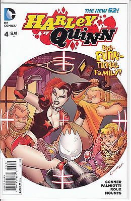 DC Comics 2013 New 52 HARLEY QUINN #4 2nd Print White Variant  Suicide Squad