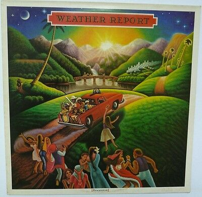 "Weather Report - Procession - 12"" Vinyl Lp"