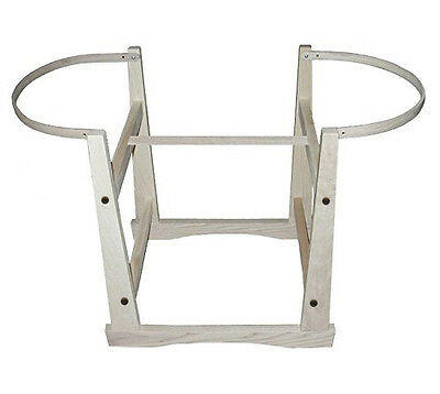 Large Moses Basket/Bassinet Stand for Baskets and Bassinets Organic-Made in USA