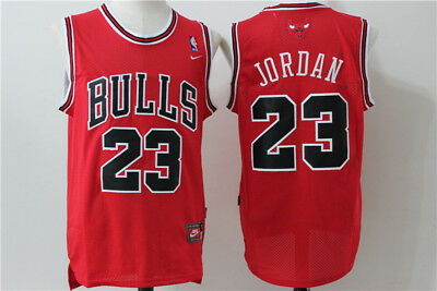 Nba Michael Jordan Chicago Bulls #23 Swingman Jersey Red
