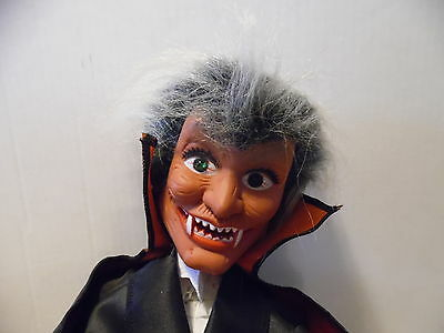 """Dracula Animated Lighted Battery Operated appr 16"""" Scary Eyes"""