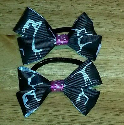 Gymnastics hair bows