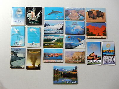 One Selected Souvenir Fridge Magnet from the USA Nature National Parks etc