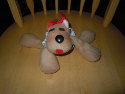 "Hallmark Heartline Plush Rhonda The Reindeer 1984 Guc Christmas Decor 5"" Tall"
