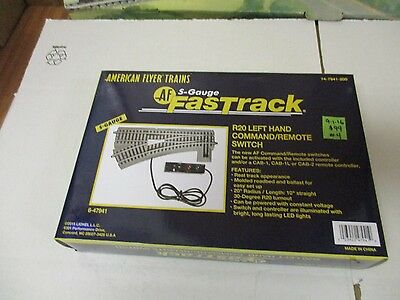 Am Flyer LTI  6-47941 Fastrack R20 LH Remote Command Switch   (9-1-16 #4) NEW