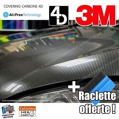 Film Covering Carbone Thermoformable 4D - 152x100cm - Film Premium ★ GTech Pro ★