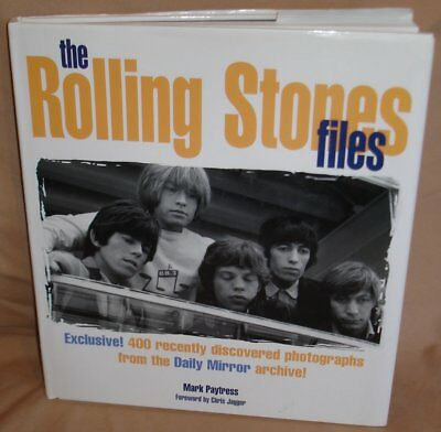 VINTAGE 1999 HARDCOVER THE ROLLING STONES by MARK PAYTRESS