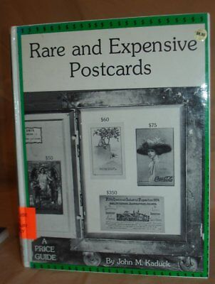 Vintage Hardcover Rare And Expensive Postcards 1975